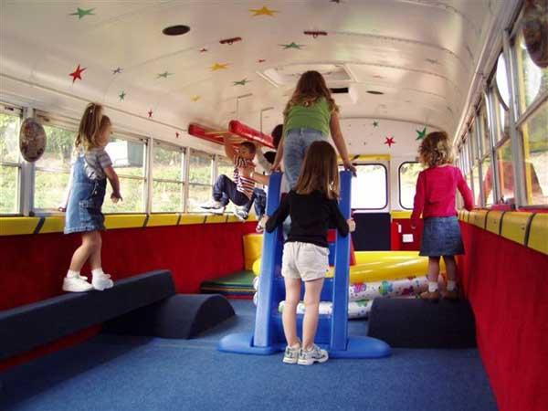 inside tumblebus fitness
